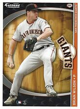 BRIAN WILSON SAN FRANCISCO GIANTS FATHEAD TRADEABLES REMOVABLE STICKER 2009 #66