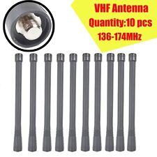 10x VHF Antenna For Motorola EP350 EP450 PTX760 CP185 P1225 GP328 HT1250 radio