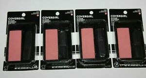 LOT (4) COVERGIRL CLEAN CLASSIC COLOR BLENDABLE BLUSH  #540 ROSE SILK