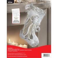 Bucilla 'Elegant Christmas'  Felt Christmas Stocking Stitchery Kit, 86977E