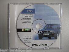 Original BMW Reparaturanleitung Repair Manual E30 Reparaturanleitung 01/2006
