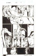 Ultimate Spider-Man #23 p.7 - Norman Osborn Transformation art by Mark Bagley