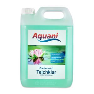 Aquani Teichklar 5000ml Teichklärer Algenmittel für klares Wasser im Teich