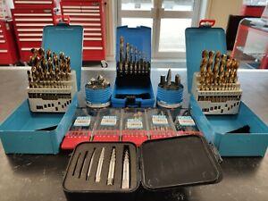 Presto Drill Set HSS Metric HI-NOX, Cobalt, TiN, Left Hand & Screw Extractors