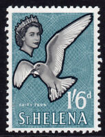 St Helena 1/6 Stamp c1961-65 Mounted Mint Hinged (306)