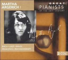 Audio CD: Martha Argerich (Great Pianists of the 20th Century), . Good Cond. . 0
