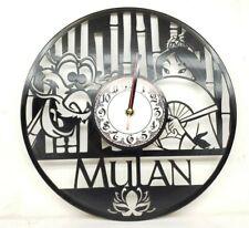 Mulan Clock Decor Wall Art Christmas Gifts