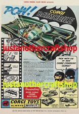 Corgi Batman Vintage Diecast Cars, Trucks & Vans