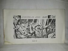 JUNGLE JIM Part 2 by Alex Raymond Sunday Strips B&W King Features Syndicate KFS