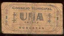 Ayuntamiento de ROQUETES 1 Peseta @ Baix Ebre - Tortosa @
