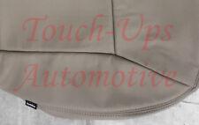 2011 Chevrolet Impala LT Katzkin Safari Leather Seat Covers Kit NEW Neutral