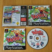 YOYO'S PUZZLE PARK PLAYSTATION PS1 PAL GAME COMPLETE WITH MANUAL FREE P&P