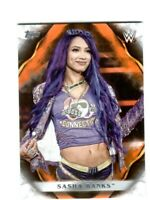WWE Sasha Banks #63 2019 Topps Undisputed Orange Parallel Card SN 79 of 99