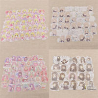 Japanese Style Kawaii Girl Decals Scrapbooking Craft  DIY Phone Decor Stickers