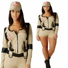 Ghostbusters Female Playsuit Official Licensed Ghost Busters Fancy Dress Costume