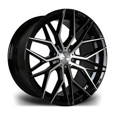 "20"" BM RV101 ALLOY WHEELS FIT FORD MUSTANG MITSIBUSHI GT0 04> 5X114 ONLY"