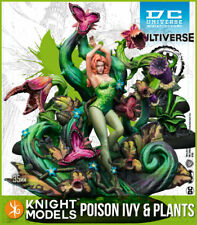 KNIGHT MODELS DC POISON IVY AND PLANTS COMIC RESIN NEW