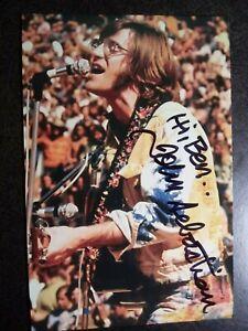JOHN SEBASTIAN Authentic Hand Signed Autograph 4X6 Photo -WOODSTOCK MUSIC LEGEND