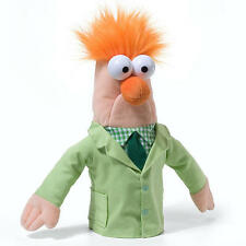 "The Muppets Beaker RARE 12"" Hand Puppet - The Muppet Show - NEW with TAG! Disney"