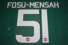 Manchester United 15/16 #51 FOSU-MENSAH UEFA / FA Cup HomeKit Nameset Printing