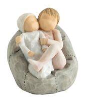 Willow Tree My New Baby Blush Children On Cushion FigurIne Ornament 7cm 27780