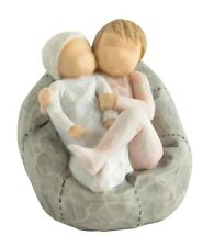 Willow Tree My New Baby Blush Children On Cushion FigurIne 7cm 27780 RRP £24