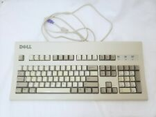 Dell AT101W Beige Keyboard - tested/working Black Alps A6