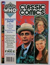 Doctor Who Classic Comics Autumn Special Marvel UK 1993 BBC w/ Poster NM HTF