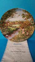 Wedgwood The Village Stream by Petula Stone Village Green Series Plate