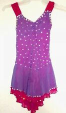 Gorgeous Girls MainStreet Figure Ice Skating Competition Dress / Test Dress -M