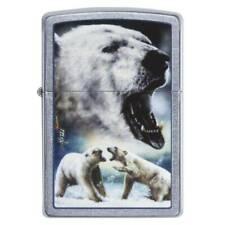 ZIPPO  by MAZZI  Polar Bear  Eisbär  CHROM NEU