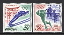 Gabon 1972 Winter Olympic Games - MNH set - Cat £4.30 - (21)