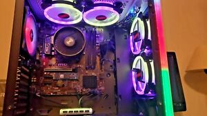 New Gaming PC AMD Ryzen 5 3400G Computer SSD 256+3T HD 16G Integrated Graphics