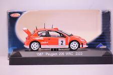 PEUGEOT 206 WRC MONTE CARLO 2003 #2 SOLIDO 1/43 NEUF EN BOITE