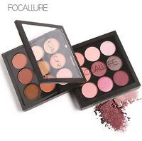 Focallure 9 Colors Eye Shadow Makeup Shimmer Matte Glitter Eyeshadow Palette Set
