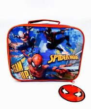 Spiderman Insulated Lunch Bag Official Licensed Character School Lunch Bag