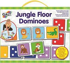 Galt Jungle Sol Dominos Enfants Bébé Activité Jouet Jeu 3 Ans + BN