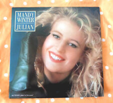 Mandy Winter-Julian-LP Pattern Plate Promo VEB/Amiga/GDR AWA/MINT
