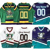 Custom The Mighty Ducks Movie Hockey Jersey Stitched Any Name and Any Number