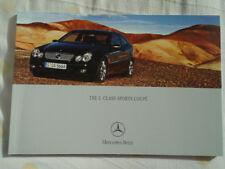 Mercedes C Class Sports Coupe brochure Jul 2004