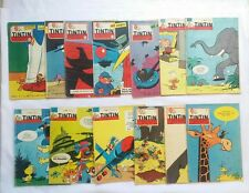 Lot Journal Tintin Macherot  / HERGE / BD / Cheque Tintin