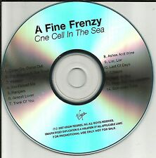 A FINE FRENZY One Cell In the Sea TST PRESS ADVNCE PROMO DJ CD 2007 USA MINT