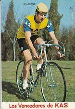 GALDEANO Ciclismo Cyclisme 70s KAS Cycling Team Tour de France ciclista radsport