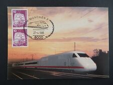 Federale MK 1985 847 Ferrovia Train Railway Maximum cartolina MAXIMUM CARD MC cm a9266