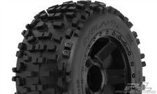 "Pro-Line Racing Badlands 3.8"" Tires Mounted on Desperado wheels (2) PRO117811"