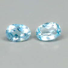 Quality Gemstone Natural 2.05 Ct. Blue Topaz Africa/ S2808