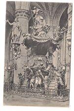 bruxelles  église sainte gudule    la chaire       a.m