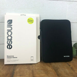 Incase Neoprene Classic Sleeve V2 for iPad Air - Black Protector Case Safety