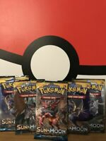 Pokemon TCG: Sun & Moon  Booster Pack | 1 PACK PER ORDER
