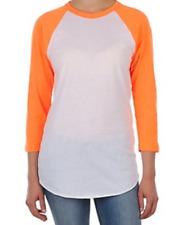 American Apparel ¾ sleeve raglan T-shirt (BB453) soft baseball style tee size XL